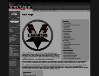 liandri.beyondunreal.com screenshot
