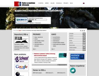 lib.irb.hr screenshot
