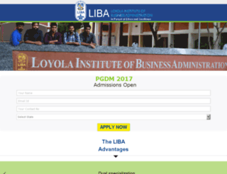liba.careers360.com screenshot
