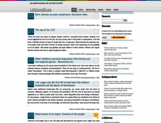 libdemblogs.co.uk screenshot