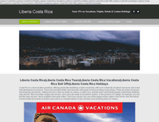 liberiacostarica.ca screenshot