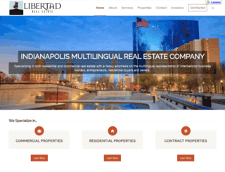 libertadproperties.com screenshot