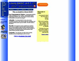 libertybasic.com screenshot
