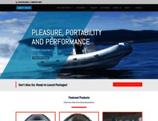libertyboats.ca screenshot