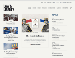 libertylawsite.org screenshot