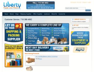 libertypaperandplastic.com screenshot