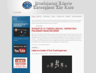 libertyworksradionetwork.com screenshot