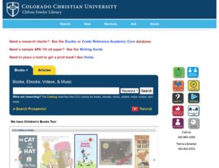 libguides.ccu.edu screenshot