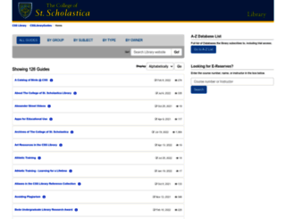 libguides.css.edu screenshot