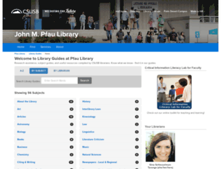libguides.csusb.edu screenshot