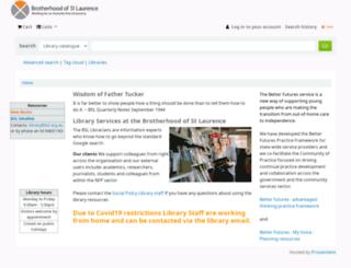 library.bsl.org.au screenshot
