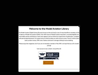 library.modelaviation.com screenshot