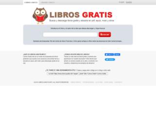 libros-gratis.info screenshot