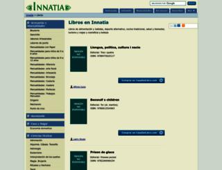 libros.innatia.com screenshot