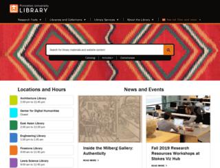 libweb5.princeton.edu screenshot