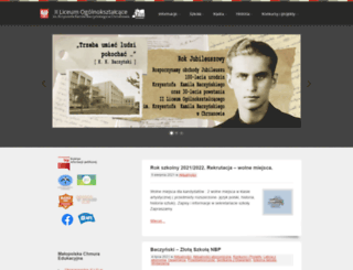 liceum.xon.pl screenshot