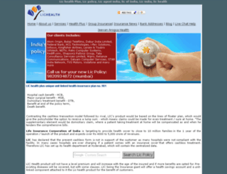 lichealth.net screenshot
