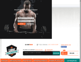 lidersuplementos.com.br screenshot