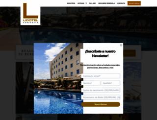lidotel.com.ve screenshot