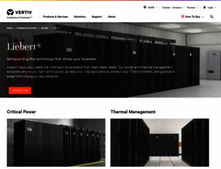 liebert.com screenshot