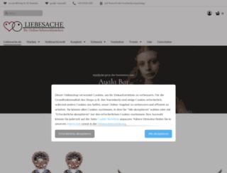 liebesache-modeschmuck.de screenshot