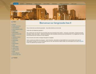 liengrossiste.free.fr screenshot