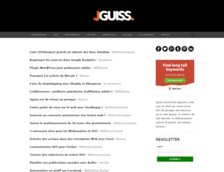 liens.jguiss.com screenshot