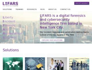 lifars.wordpress.com screenshot