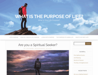 life-purpose.org screenshot