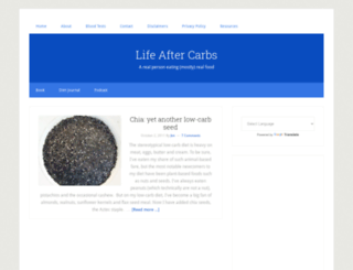 lifeaftercarbs.com screenshot