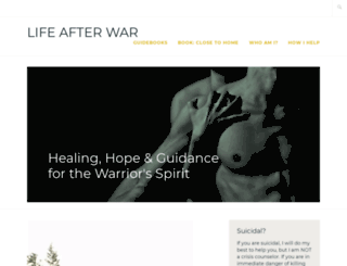 lifeafterwar.org screenshot