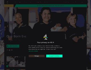 lifebegins.channel4.com screenshot