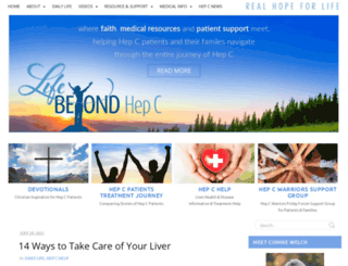lifebeyondhepatitisc.com screenshot