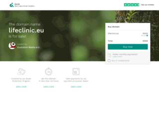 lifeclinic.eu screenshot