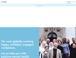 lifeclubs.co.uk screenshot