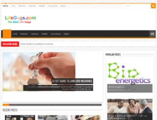 lifegags.com screenshot