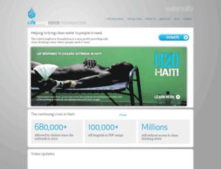 lifegivingforce.org screenshot
