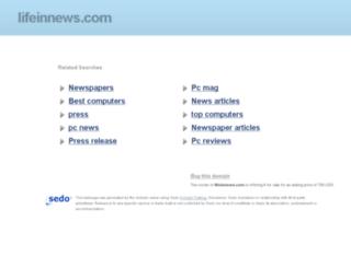 lifeinnews.com screenshot