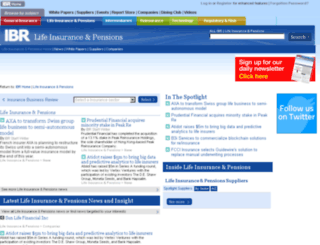 lifeinsuranceandpensions.insurance-business-review.com screenshot