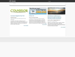 lifeissues.com screenshot
