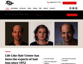 lifelikehair.com screenshot