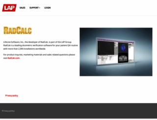 lifelinesoftware.com screenshot