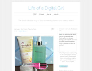 lifeofadigitalgirl.wordpress.com screenshot