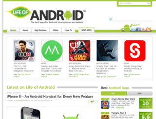 lifeofandroid.com screenshot