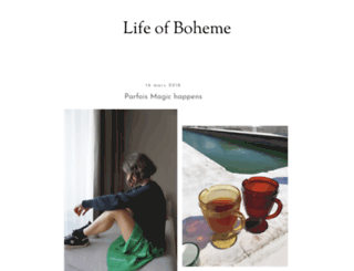 lifeofboheme.com screenshot