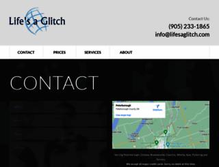 lifesaglitch.com screenshot