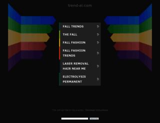 lifestyle.trend-ai.com screenshot