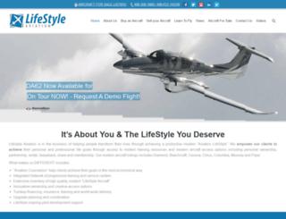 lifestyleaviation.com screenshot