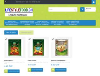 lifestylefood.ch screenshot