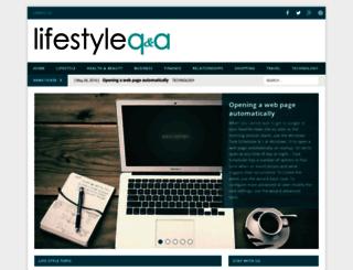 lifestyleqa.com screenshot